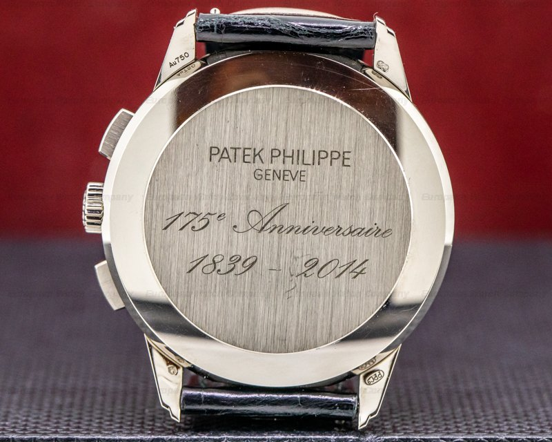 Patek Philippe 5975G-001 175th Anniversary 5975 Chronograph White Gold Limited