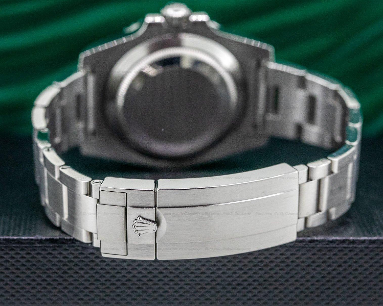 Rolex 114060 Submariner No Date Ceramic Bezel SS