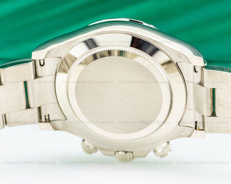 Rolex 116509 Daytona 116509 Blue Dial 18K White Gold