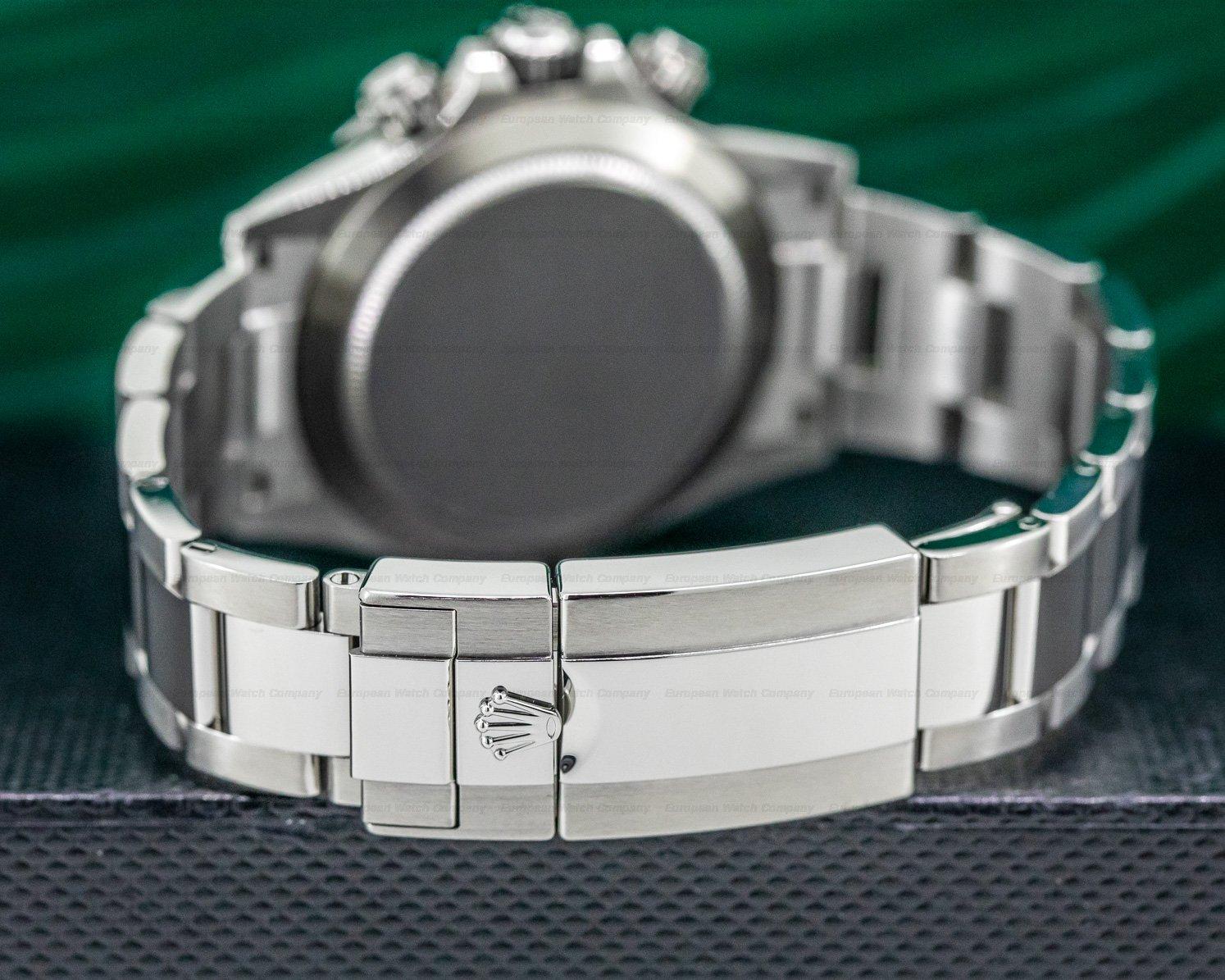 Rolex 116520 Daytona White Dial SS FULL SET ORIGINAL OWNER