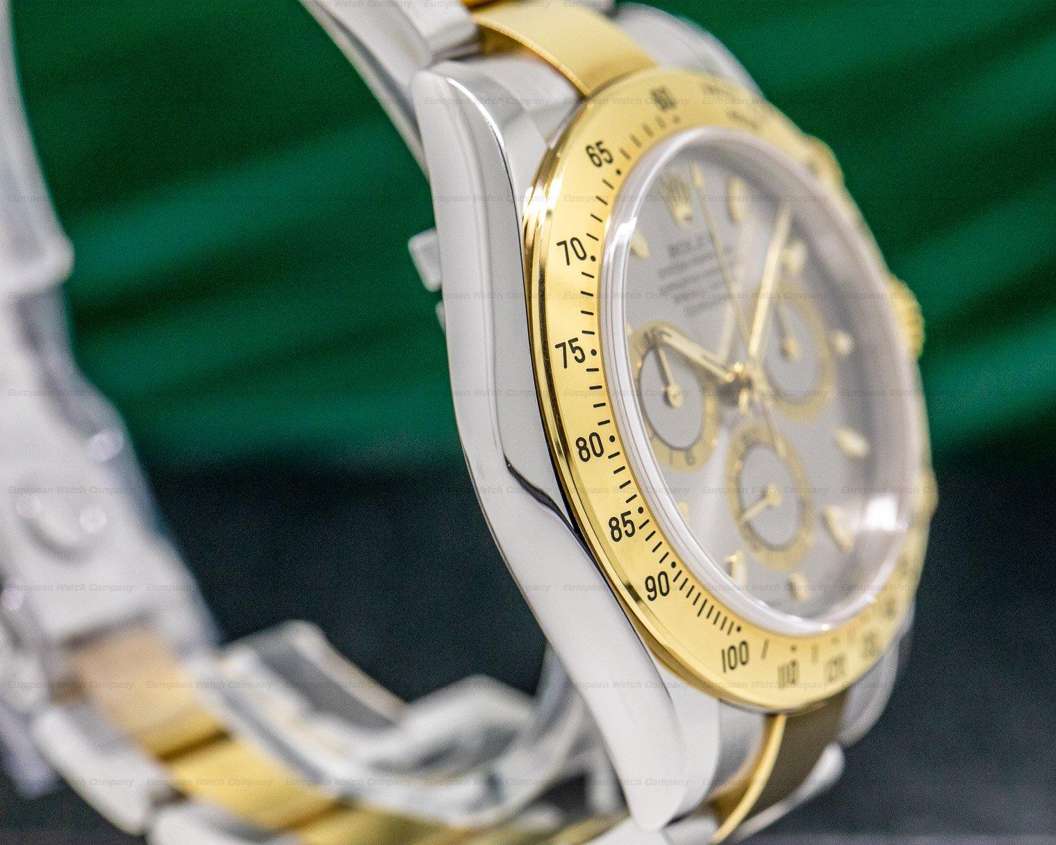 Rolex 116523 Daytona Slate Dial 18K Yellow Gold / SS FULL SET
