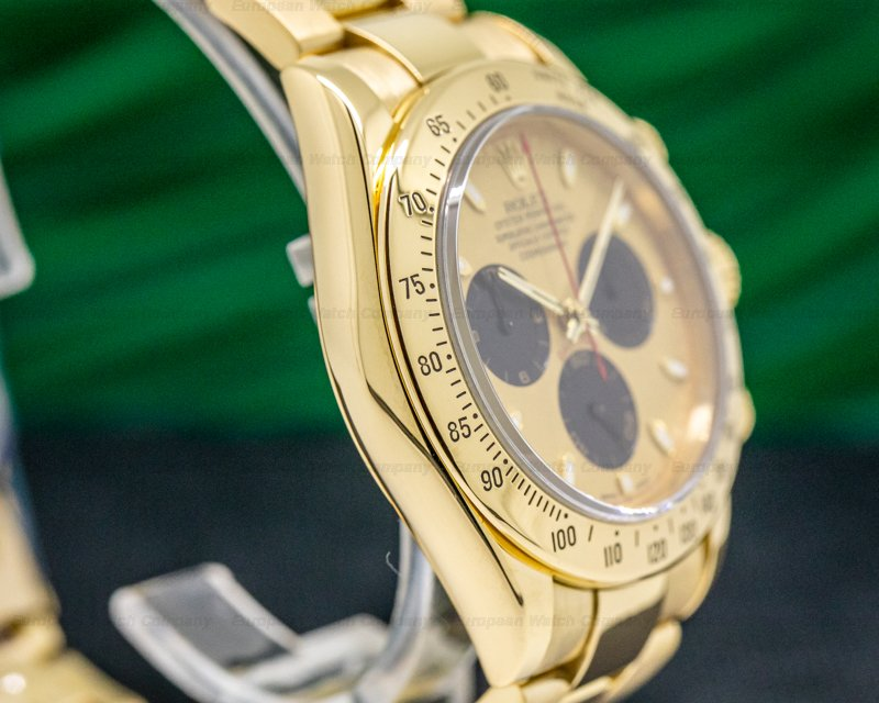 Rolex 116528 Daytona 18K Yellow Gold / Gold Dial