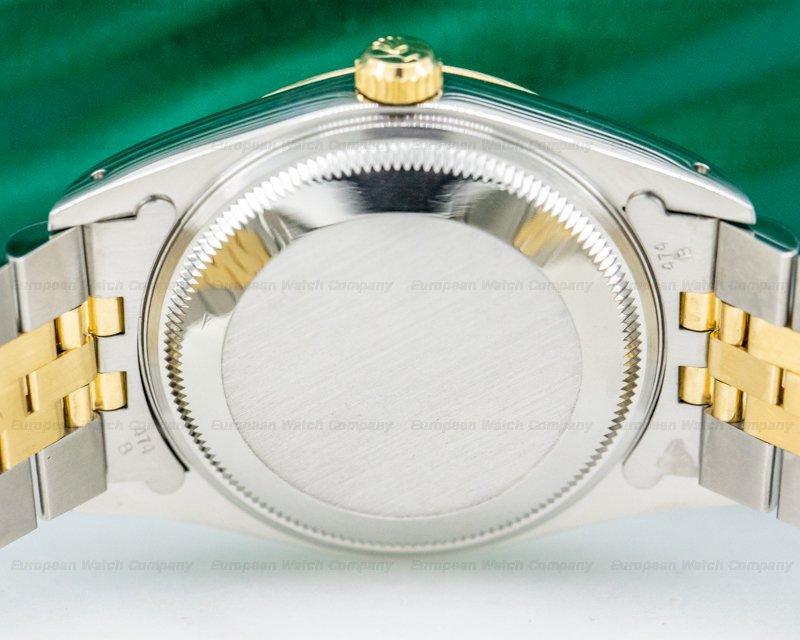 Rolex 15223 Oyster Date Blue Dial 18K / SS Jubilee