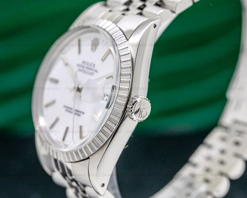 Rolex 16030 Datejust White Dial / Jubilee SS