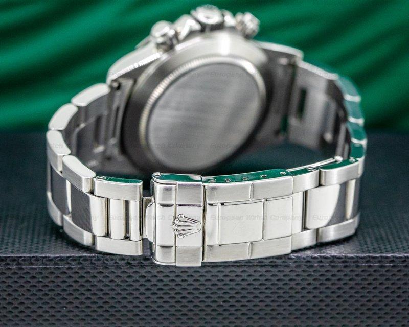 Rolex 16520 Daytona SS Black Dial Zenith Movement U Series