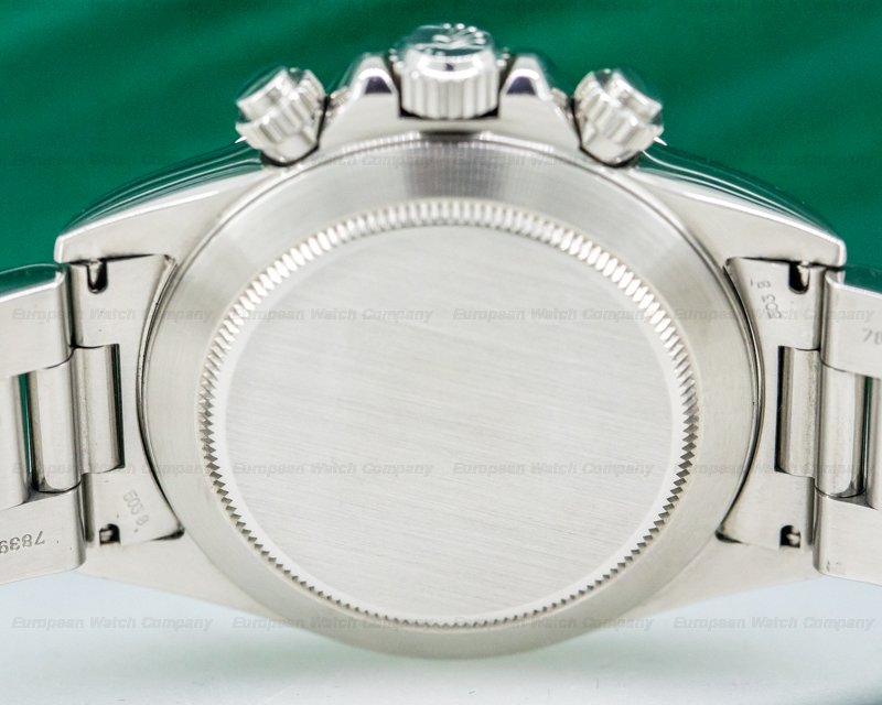 Rolex 16520 Daytona SS Black Dial Zenith Movement W Series