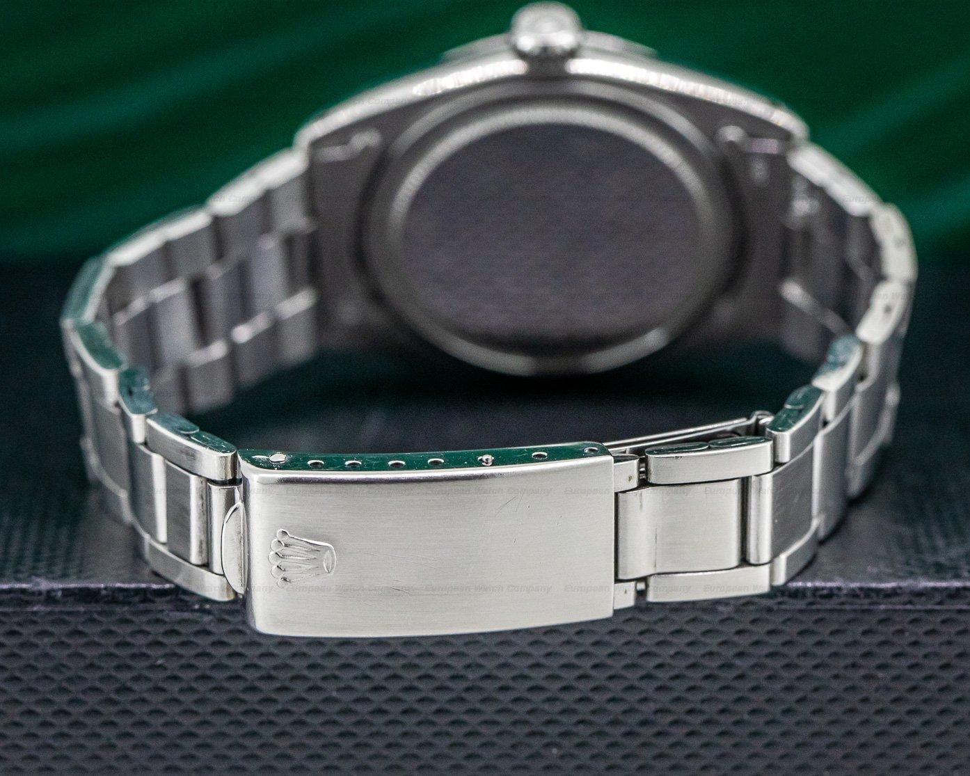 Rolex 6426 Precision Silver Dial Circa 1979 SS / SS