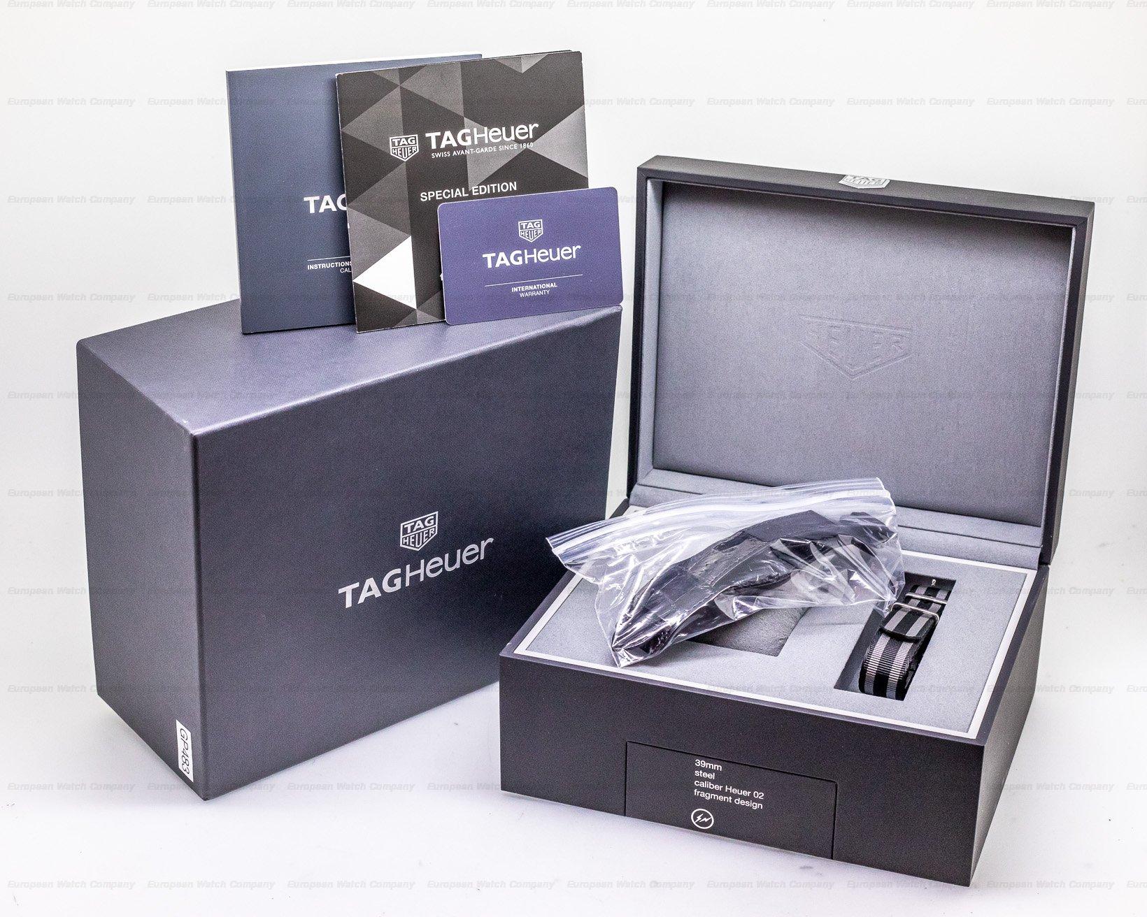 TAG Heuer CBK221A Carrera O2 By Fragment Design Hiroshi Fujiwera Limted Edition