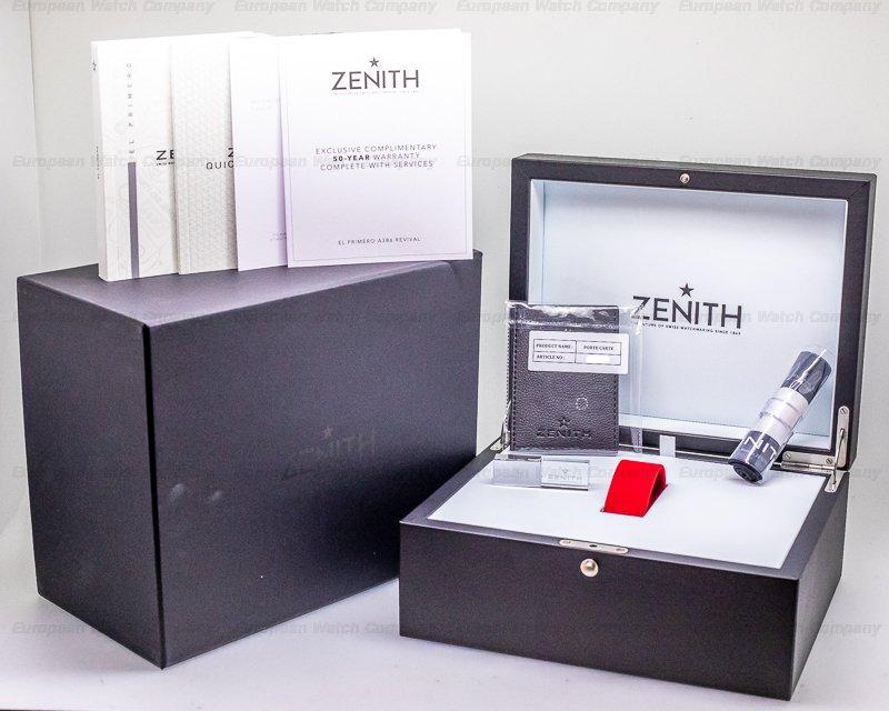 Zenith 65.A386.400/69.C815 El Primero 50th Anniversary A386 Revival 18k WG LIMITED