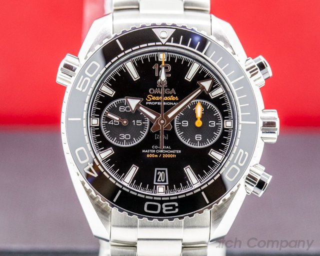 Omega 215.30.46.51.01.001 Sea Master Planet Ocean Co-Axial Chronograph SS