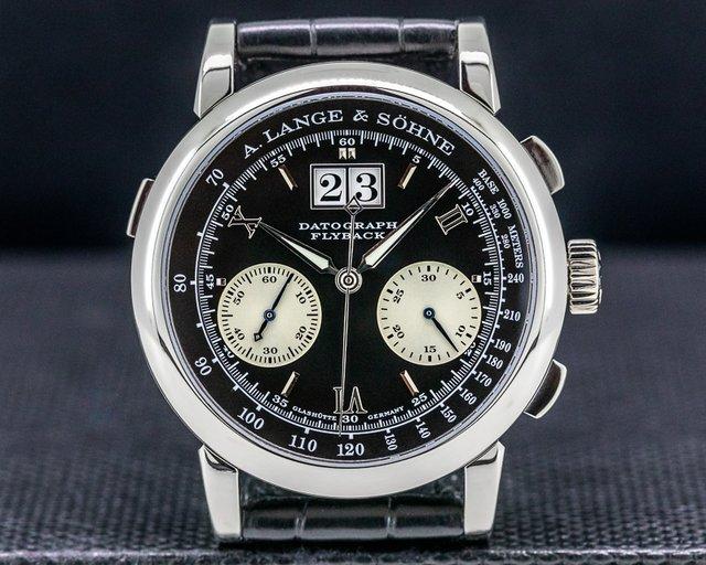A. Lange and Sohne 403.035 Datograph Flyback 403.035 Platinum 39MM