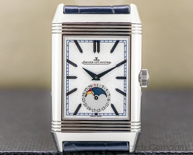Jaeger LeCoultre Q3958420 Reverso Tribute Duo Moon SS