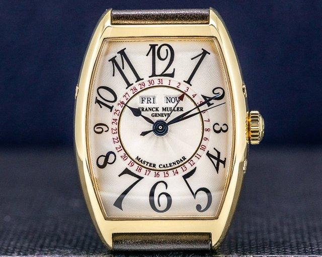 Franck Muller 2852MC Master Calendar 18k Yellow Gold / Leather