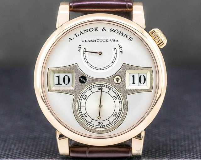 A. Lange and Sohne 140.032 Zeitwerk 140.032 18K Rose Gold 2019
