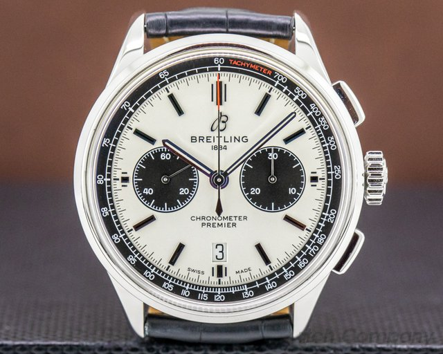 Breitling AB0118221G1P1 Premier B01 Chronograph 42 SS