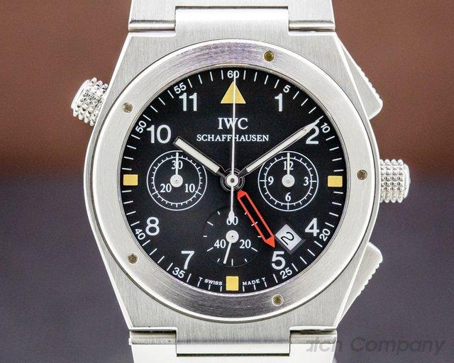 IWC 3815 Ingenieur Meca-Quartz Chronograph Alarm