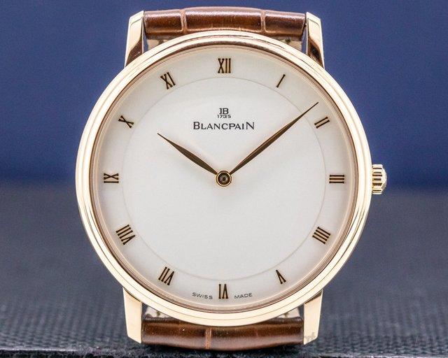 Blancpain 4053-3642-55 Ultra Slim Villeret Automaitc 18K Rose 40MM