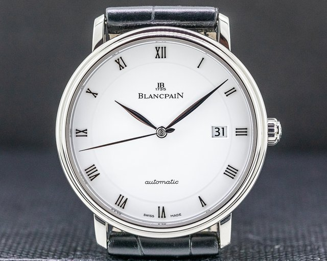 Blancpain 6651-1127-55B Villeret Ultraplate SS Automatic 40MM