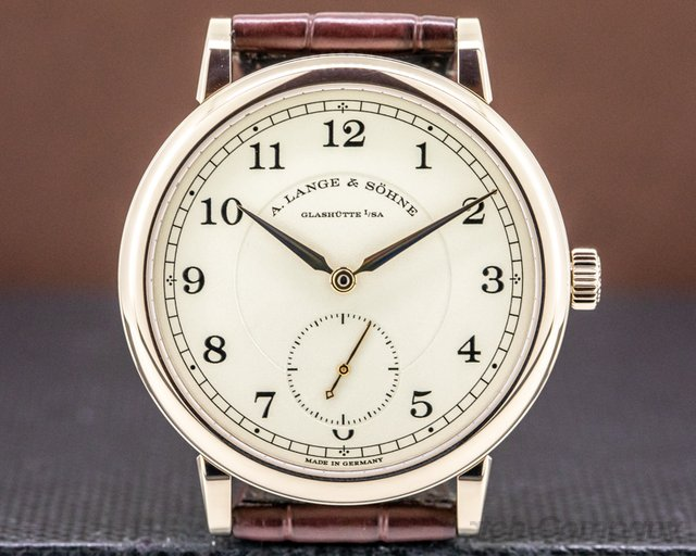 A. Lange and Sohne 236.050 200th Anniversary F.A Lange 236.050 1815 Honey Gold