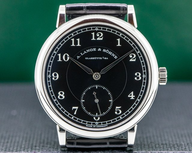 A. Lange and Sohne 236.049 200th Anniversary F.A Lange 236.049 1815 Platinum Black Dial
