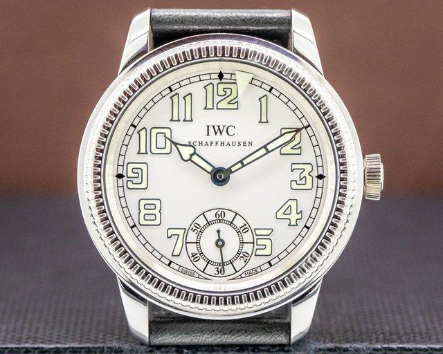 IWC IW325405 Pilots Watch Vintage Collection Platinum 44MM