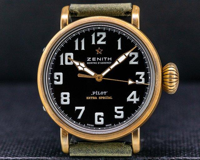 Zenith 29.1940.679/21.C800 Pilot Type 20 Extra Special Bronze