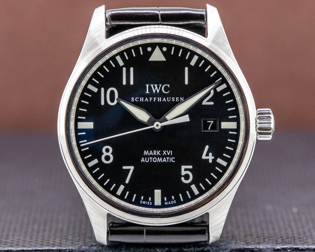 IWC IW325501 Mark XVI Black Dial SS