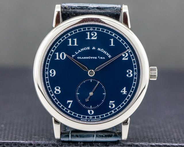 A. Lange and Sohne 206.027 1815 206.027 Blue Dial 18k White Gold 36MM