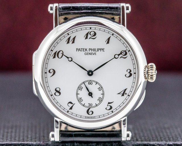 Patek Philippe 3960G Calatrava 3960G '150th Anniversary' 18K White Gold RARE FULL SET