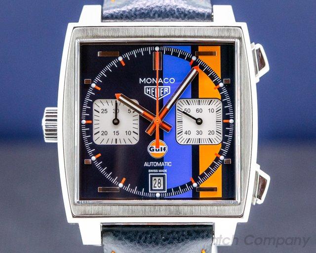 TAG Heuer CW211R.FC6401 Monaco Gulf Chronograph Calibre 11