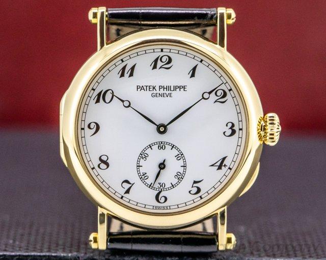 Patek Philippe 3960J Calatrava 3960J '150th Anniversary' 18K Yellow Gold