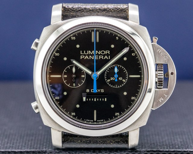 Panerai PAM00530 Luminor 1950 Rattrapante 8 Day Manual Titanium