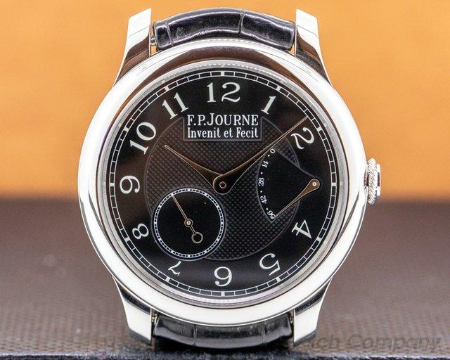 F. P. Journe Chronometre Souverain Bl Chronometre Souverain Black Label Platinum