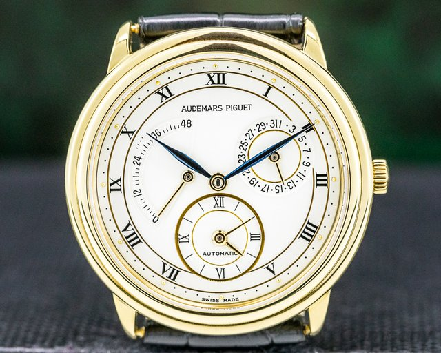 Audemars Piguet 25685BA.0.0002 Dual Time 18K Yellow Gold