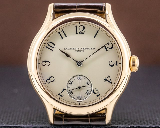 Laurent Ferrier LCF004.R5.OBN Galet Micro Rotor 18k Red Gold Arabic Dial