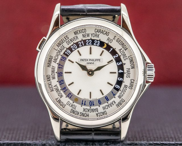 Patek Philippe 5110G-001 World Time 5110G 18K White Gold