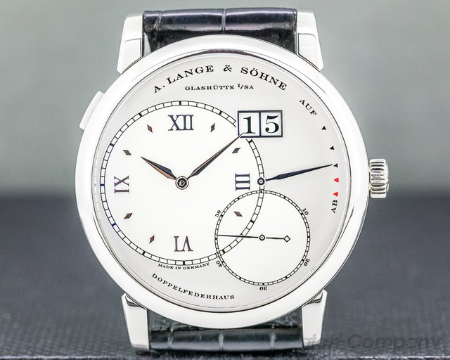 A. Lange and Sohne 115.025 Grand Lange 1 115.025 Platinum / Deployant
