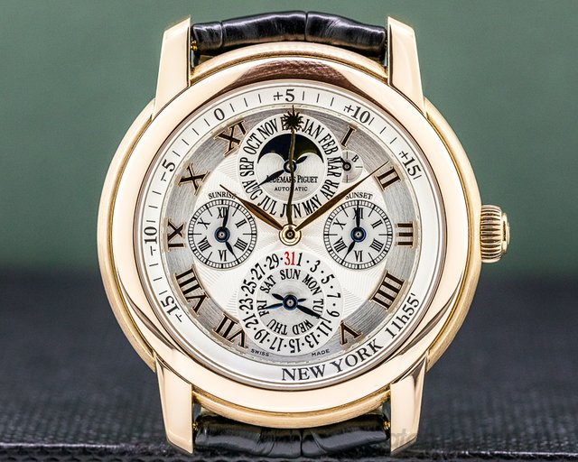 "Audemars Piguet 26003OR.OO.D088CR.01 Jules Audemars Equation of Time ""NEW YORK"" 18K Rose Gold"