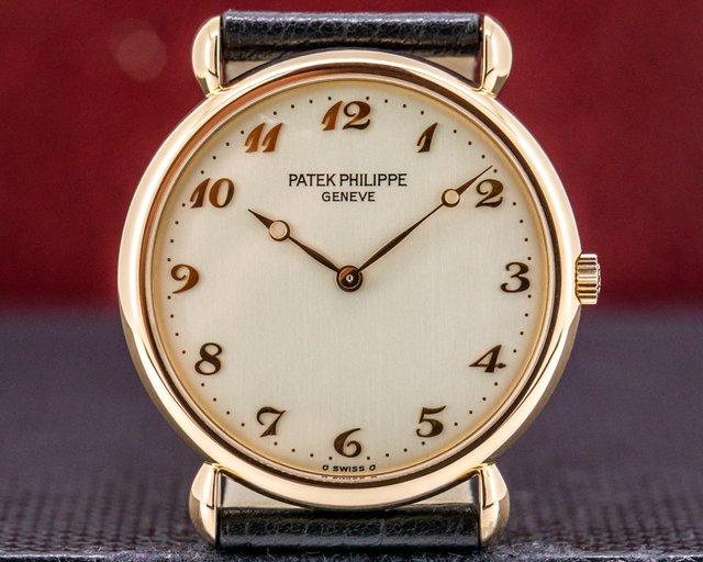 Patek Philippe 3820R Calatrava 3820 Teardrop Lugs 18K Rose Gold