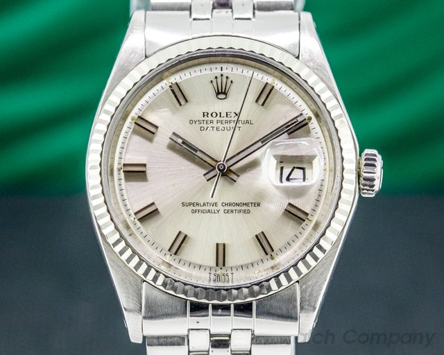 Rolex 1601 WIDE BOY Oyster Perpetual Datejust SS WIDE BOY / Jubilee