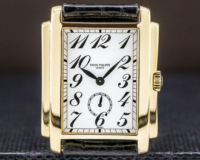 Patek Philippe 5024J-010 Gondolo 5024J White Dial Arabic Numerals 18K Yellow Gold