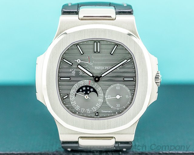 Patek Philippe 5712G-001 TIFFANY Nautilus 5712G TIFFANY  18K White Gold UNWORN