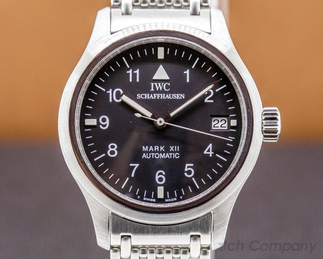 IWC 3241-001 Mark XII SS Bracelet / JLC Caliber