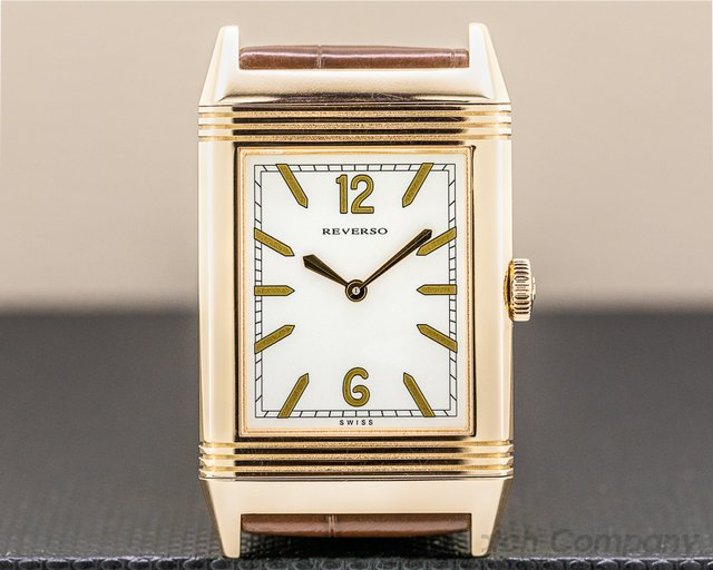 Jaeger LeCoultre Q2782521 Grande Reverso Tribute 1931 Ultra Thin 18K Rose Gold