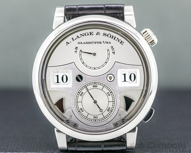 A. Lange and Sohne 145.025 Zeitwerk Striking Time 145.025 Platinum LIMITED