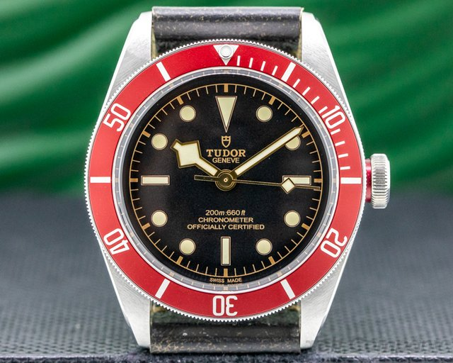 Tudor 79230N Tudor Heritage Black Bay BLACK SS / Leather
