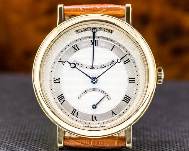 Breguet 5207BA/12/9V6 Classique Retrograde Seconds 18K Yellow Gold