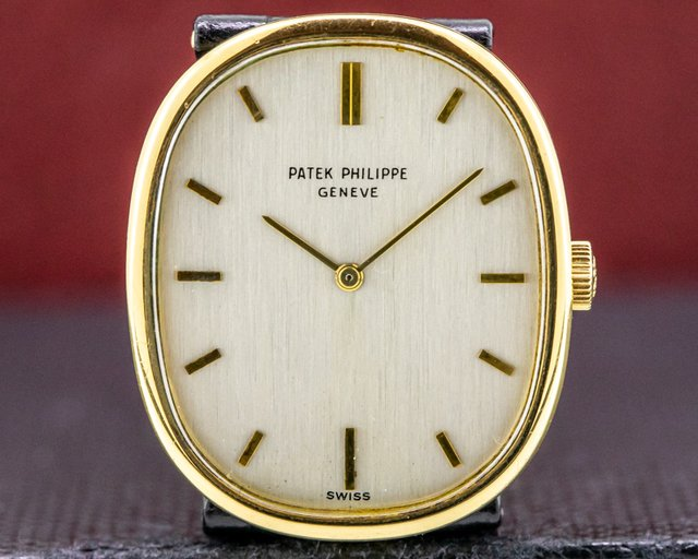 Patek Philippe 3848 Golden Ellipse 18k Yellow Gold Manual Wind