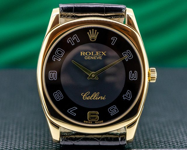 Rolex 4233 Cellini Danaos Rose Gold