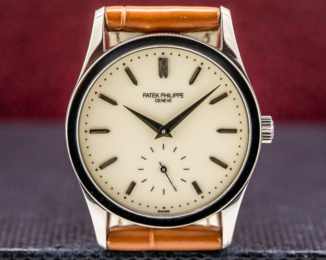 Patek Philippe 3796 Calatrava 18K White Gold Manual 30.5mm